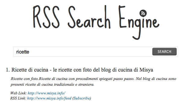 rss search engine
