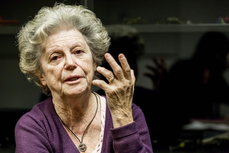 La professoressa Amalia Ercoli Finzi Presso il Politecnico di Milano.