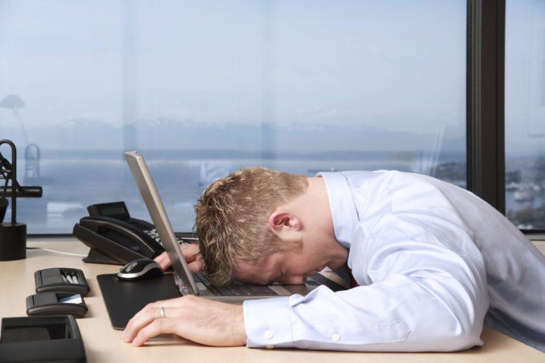dormire in ufficio